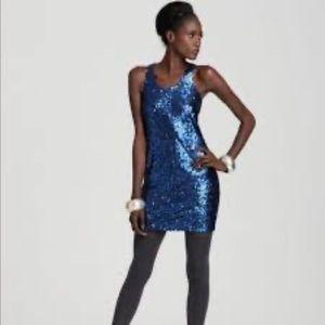 Vince Camuto Sequin Sheath Mini Cocktail Dress